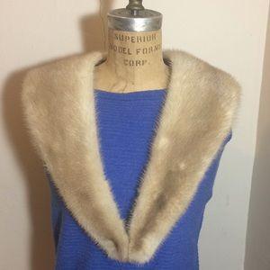 Vintage women's mink Collar, Stole, wrap EUC